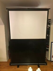Da lite Deluxe Insta theater Portable Projection Screen 36 X 48 450 New