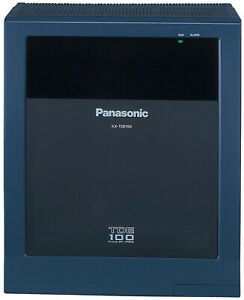 Panasonic Kx tde100 Ip Pbx Cabinet Without Ipcmpr Card And Without Power Supply