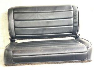 1976 1995 Jeep Wrangler Rear Seat Bench Vinyl Cj Yj