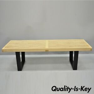 George Nelson Herman Miller 48 Long Nelson Platform Bench Coffee Table
