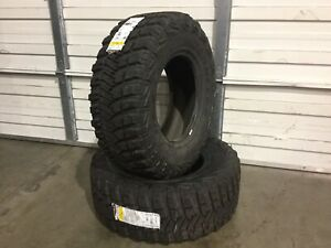 New Tires Goodyear 35x12 50r18lt Offroad