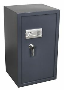 Brand New Electronic With Key Lock Security Safe Heavy Duty Steel Extra Large