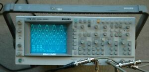 Philips Pm3392 200mhz 4 Ch Digital Analog Oscilloscope Works Great