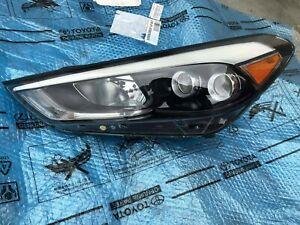 2016 2017 2018 Hyundai Tucson Headlight Led Dueal Proyector Left Driver Side Oem