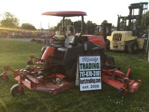 2005 Jacobsen Hr9016t 4x4 16ft Wide Area Mower Kubota Turbo Diesel Only 2900hrs