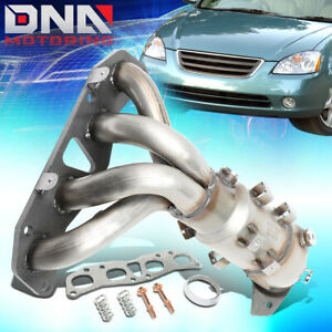 For 2002 2006 Nissan Altima Sentra 2 5l Catalytic Converter Exhaust Manifold