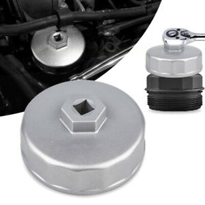 74mm Oil Filter Wrench Drive Socket Cup Tool For Mercedes Benz Audi Vw Chrysler