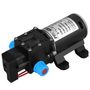 12v Dc 100w 8l min 160psi High Pressure Diaphragm Self Priming Water Pump New