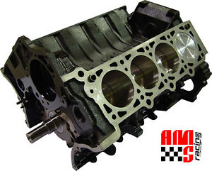 Ams Racing Ford Modular 4 6l 4 Valve Short Block Forged Assembly Arias Pistons