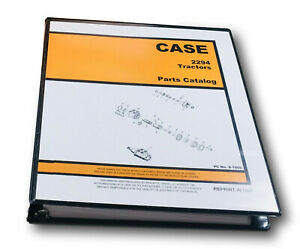 Case 2294 Tractor Parts Manual Catalog Assembly Exploded Views Numbers