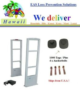 To Hawaii Combo m 1000 Tag Pin Tool Eas Rf Security Antenna System
