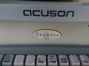 Siemens Acuson Sequoia 512 Ultrasound Machine Without Transducer