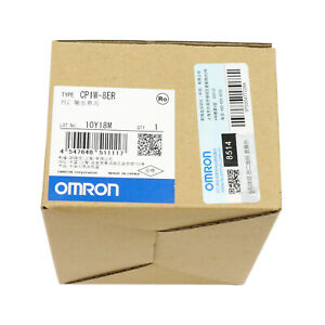 Omron Plc Output Unit Cp1w 8er New In Box Free Shipping