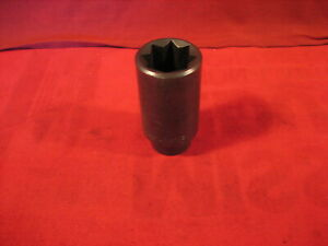 Vintage Wright Tools 1 2 Drive 8 Point Impact Socket 1 1 16