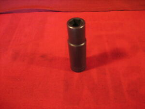 Vintage Wright Tools 1 2 Drive Impact Socket 9 16
