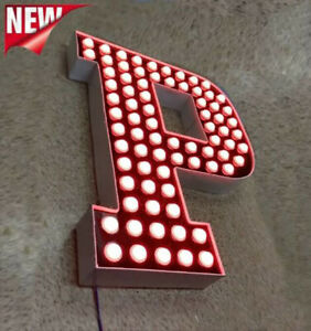 New Channel Letter 18 Led Pixel Lights Business Signage Custom Made
