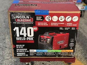 Lincoln Electric 140 Hd Weld Pak 140 Amp Mig Wire Feed Welder 03 l150719a