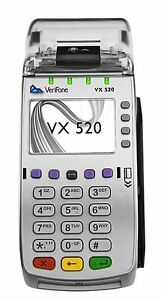 Verifone Vx520 Emv Nfc Credit Card Machine chase Bank Only m252 653 a3 naa 3