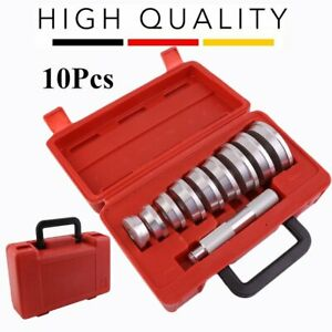 10 Pcs Set Aluminum Wheel Bearing Race And Seal Driver Master Tool Kit Set To