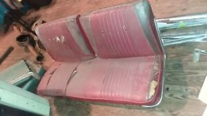 1963 Ford Galaxie Front Bench Seat