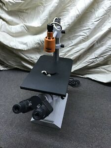 Carl Zeiss Surgical Microscope Inverted Opton West Germany