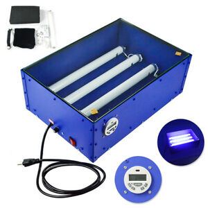 60w 18 12inch Electric Uv Exposure Unit Screen Printing Supply Top Grade Tool