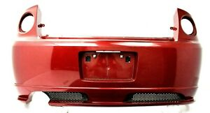 2007 10 Chevrolet Chevy Cobalt Coupe Ss Rear Bumper Cover Oem Sport Red Tricoat