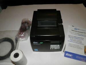 New Star Micronics Tsp100 143iiu Usb Thermal Pos Receipt Printer W Power Cord