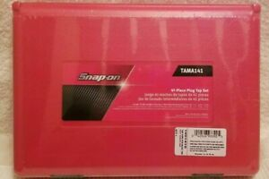 Snap On Tama141 41 Piece Plug Tap Set New Factory Sealed 50 Off Free Shipping