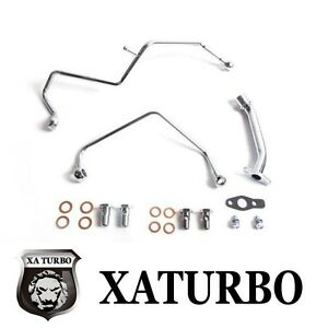 Saab 9000 B234r Td04 Aero Turbo Oil Water Line Kit