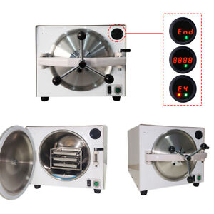 Dental 18l Class N Stainless Steel Medical Sterilizer Disinfection Cabinet Heat