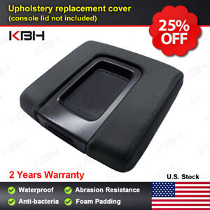 Console Lid Armrest Replacement Cover Fit Chevy Silverado Gmc Sierra 14 18 Black