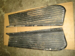 1950s Chevrolet Truck Running Boards