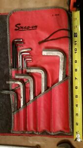 Snap On Allen Hex Wrench Set Large Small Long Short 3 4 7 64 Vintage Modern