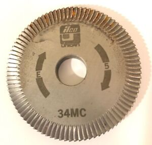 Ilco Key Cutter Wheel 34mc Machine E 5 Free Shipping Unican