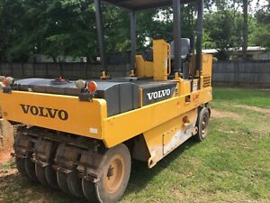 2015 Volvo Pt125 Pneumatic Roller W 2473 Hours