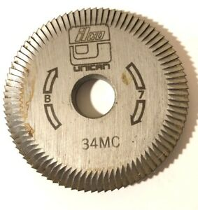 Ilco Key Cutter Wheel 34mc Machine B 7 Free Shipping Unican