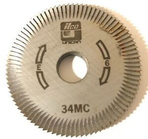Ilco Key Cutter Wheel 34mc Machine E 6 Free Shipping Unican