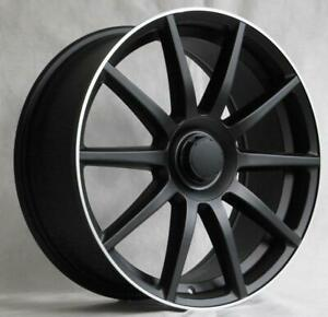 20 Wheels For Mercedes S class S550 S560 S600 S63 S65 staggered 20x8 5 9 5