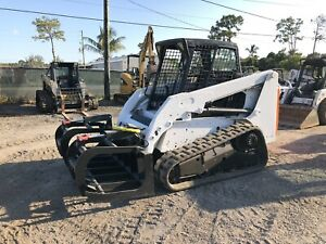 2010 Bobcat T180 Skid Steer Auxiliary Hydraulics Quick Attach Acs Controls