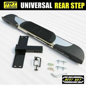 Universal 6 Stainless Hitch Step Rear Step For Vehicles With 2 Receiver