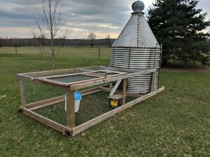 Very Cool Custom Home Made Chicken Tractor Chicken Coop