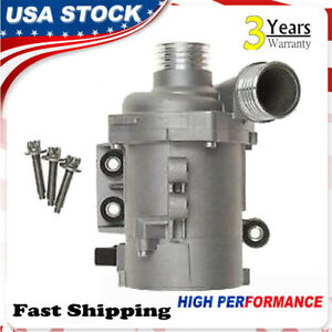 Electric Coolant Water Pump For Bmw 128 235 328 330 525 528 530 X3 X5 X4 New