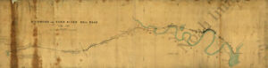 Map Of Richmond And York River Railroad Virginia C1864 36x10