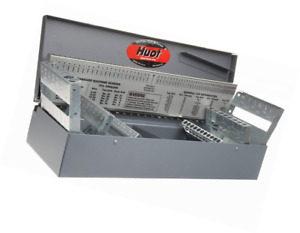 Huot 11700 Combination Jobber Length Drill Bit Index For Sizes 1 16 To 1 2 In