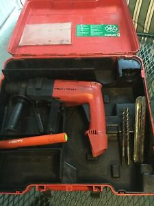 Hilti Te10a Rotary Hammer Drill 36v Cordless With Case And Bits