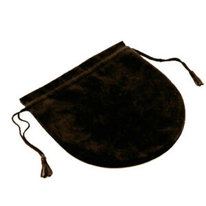 Wholesale Lot Brown Italian Faux Suede Draw String Pouch Set Of 50