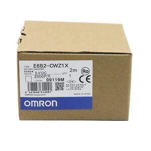 Omron E6b2 cwz1x 2000p r Rotary Encoder New One Year Warranty
