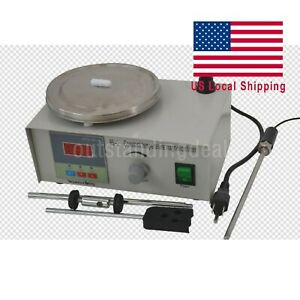 85 2 Laboratory Magnetic Stirrer With Heating Plate 110v Hotplate Mixer Us Ship