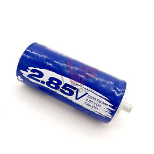 2 85v 3400f Car Audio Power Super Capacitorelectrical Component Farad Capacitor